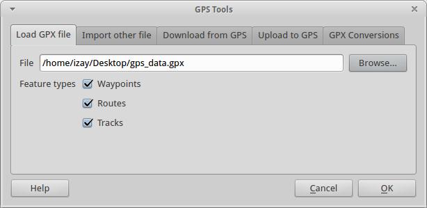 Using GPS data — CLP-FFI-ESSC FOSS4G Workshop 2013 0 1