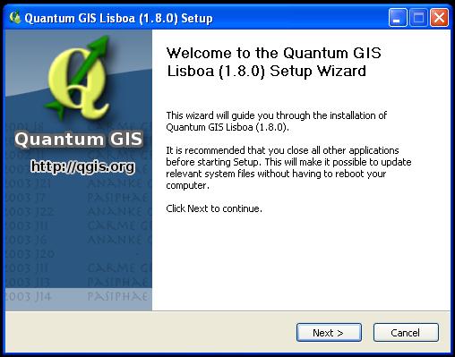Installing Quantum GIS — CLP-FFI-ESSC FOSS4G Workshop 2013 0 1