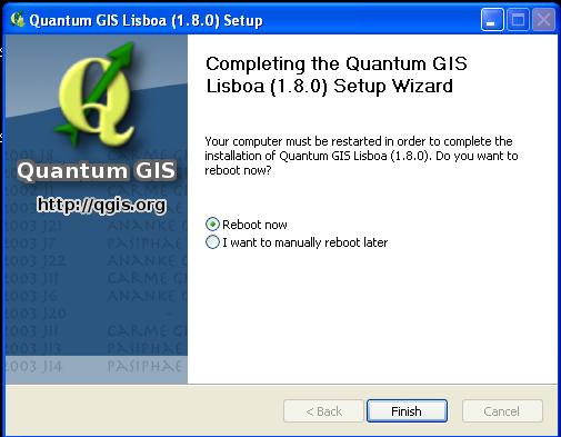 quantum gis installer