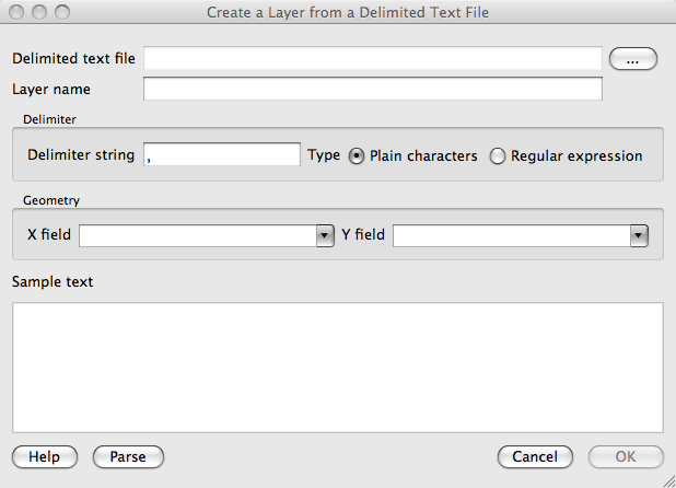 5  Converting Text Files to Shapefile Layer — Basic QGIS and