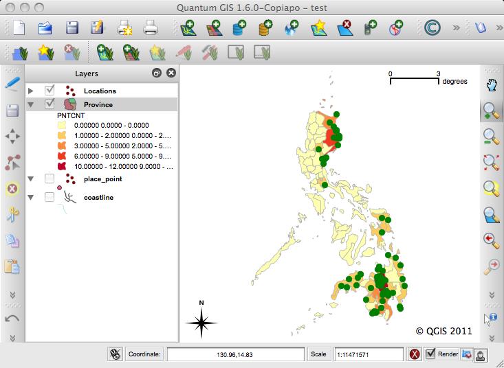 6  Creating webmap using QGIS and Openlayers — Basic QGIS and