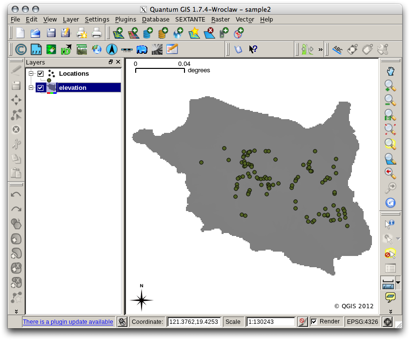Preparing data for MaxEnt — WCSP2012 Species Distribution